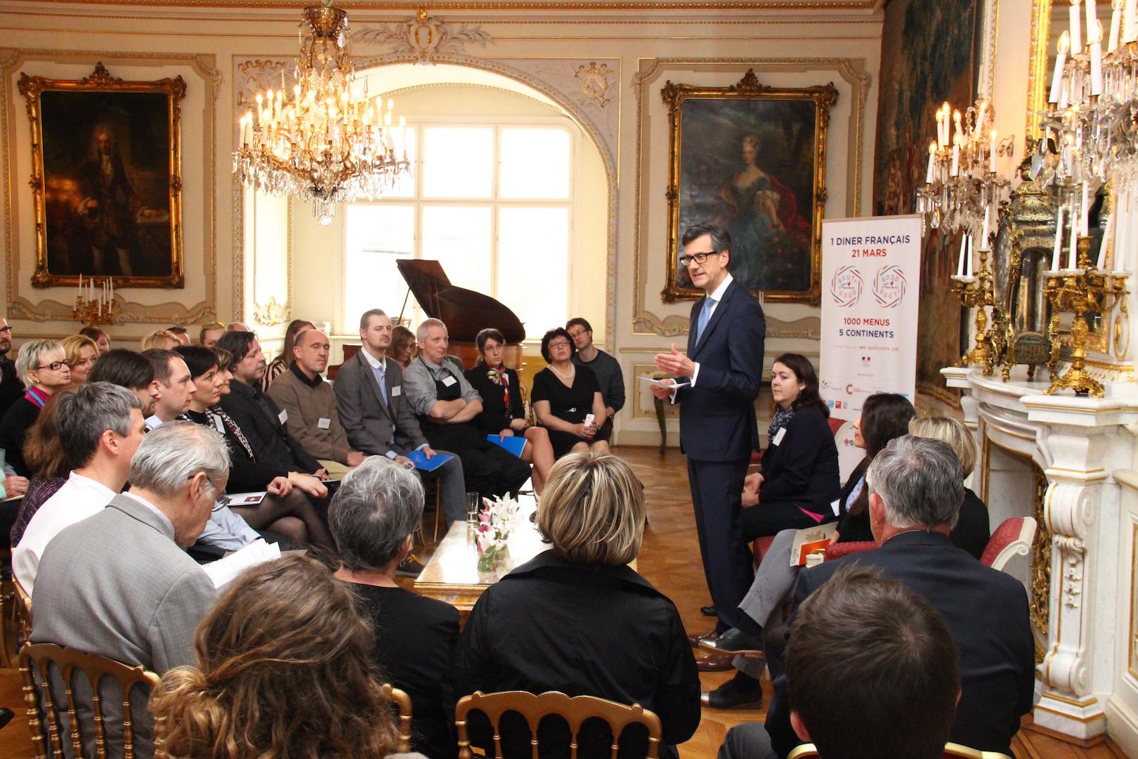 Go t de good france conf rence de presse 10 mars 2016 for Chambre de commerce franco tcheque