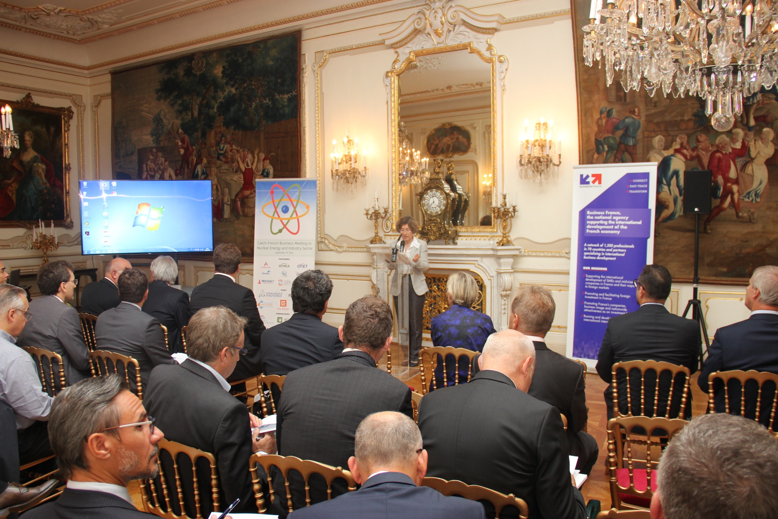 Rencontres d affaires franco tch ques dans le secteur for Chambre de commerce franco tcheque